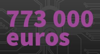 773000 euros : coût d'une cyberattaque