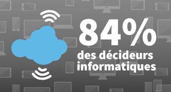 Le Cloud génère de nouveaux besoins en compétences pour 84 % des DSI