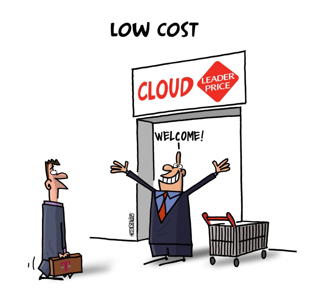Le Cloud low cost