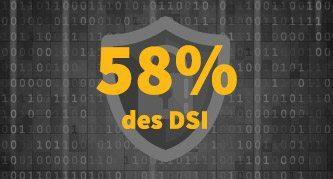 58 % des DSI