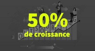 50 % de croissance pour les contrats d'outsourcing en France