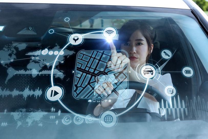 Passager numérique pour la voiture de l'avenir
